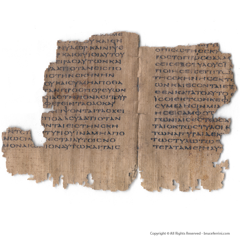 The Septuagint on Papyrus Exodus 26-30